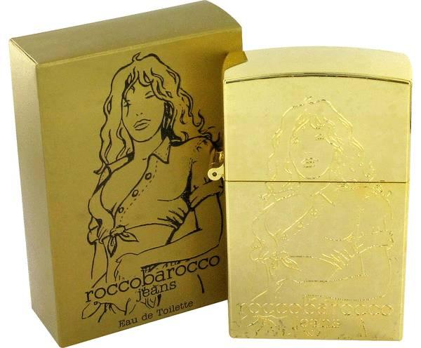 perfume Rocco Barocco Gold Jeans Perfume