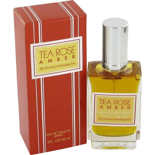 perfume Tea Rose Amber Perfume