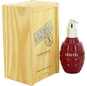 Arsenal Dark Red Cologne, de Gilles Cantuel · Perfume de Hombre