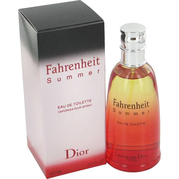 perfume Fahrenheit Summer Fragrance Cologne