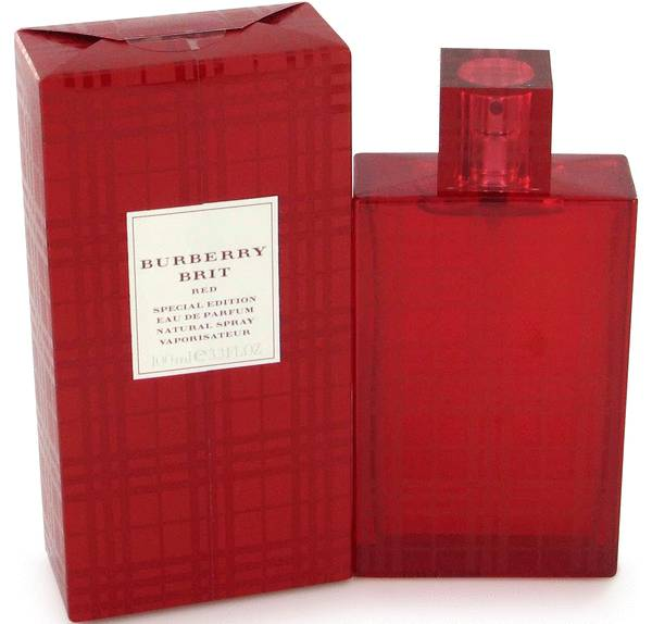 perfume Burberry Brit Red Perfume
