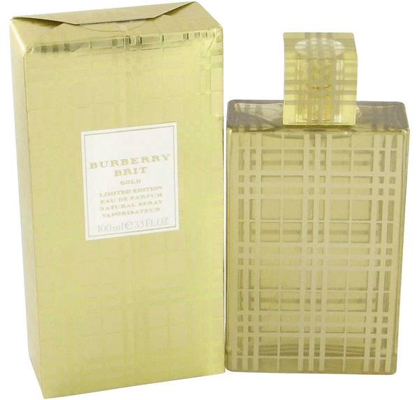 perfume Burberry Brit Gold Perfume