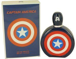 Captain America Cologne, de Marvel · Perfume de Hombre