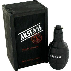 Arsenal Black Cologne, de Gilles Cantuel · Perfume de Hombre