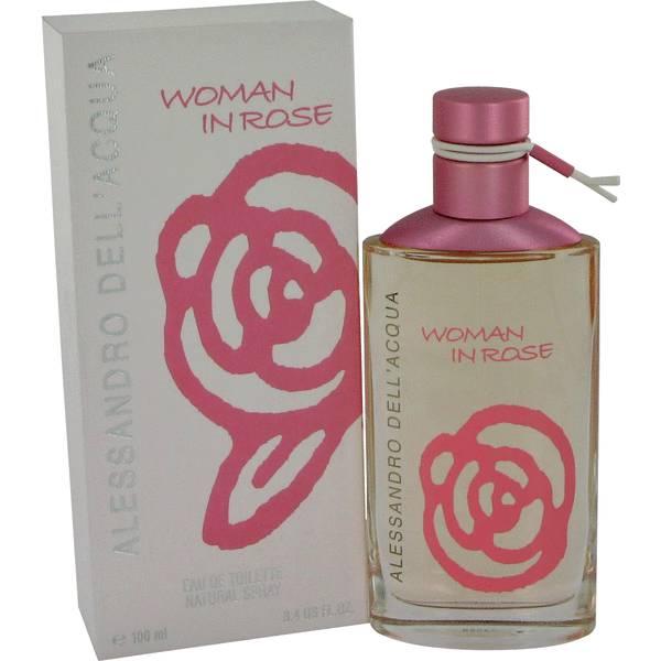 perfume Woman In Rose Perfume