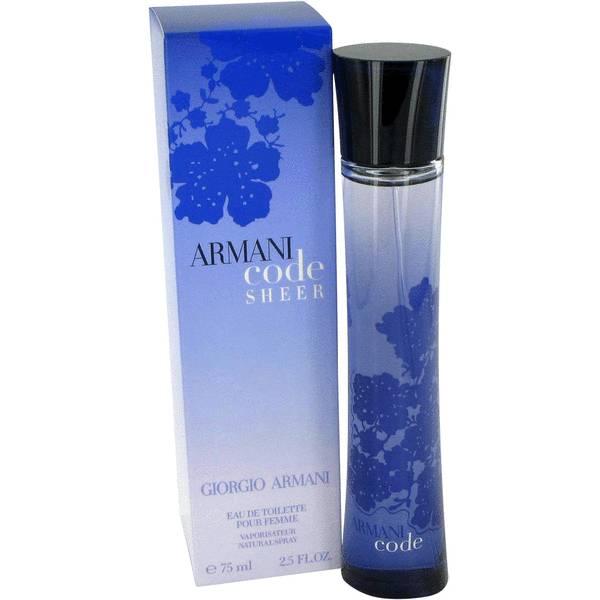 perfume Armani Code Sheer Perfume