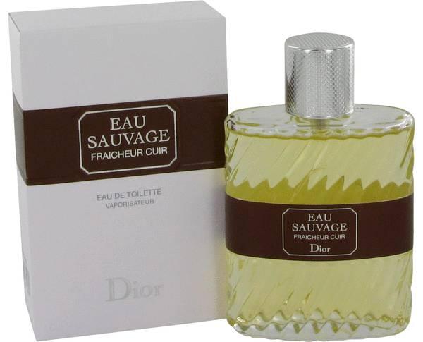 perfume Eau Sauvage Fraicheur Cuir Cologne