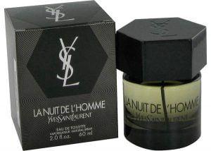 La Nuit De L'homme Cologne, de Yves Saint Laurent · Perfume de Hombre