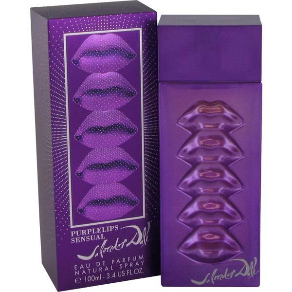 perfume Purple Lips Sensual Perfume