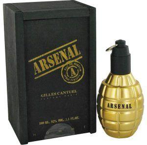 Arsenal Gold Cologne, de Gilles Cantuel · Perfume de Hombre