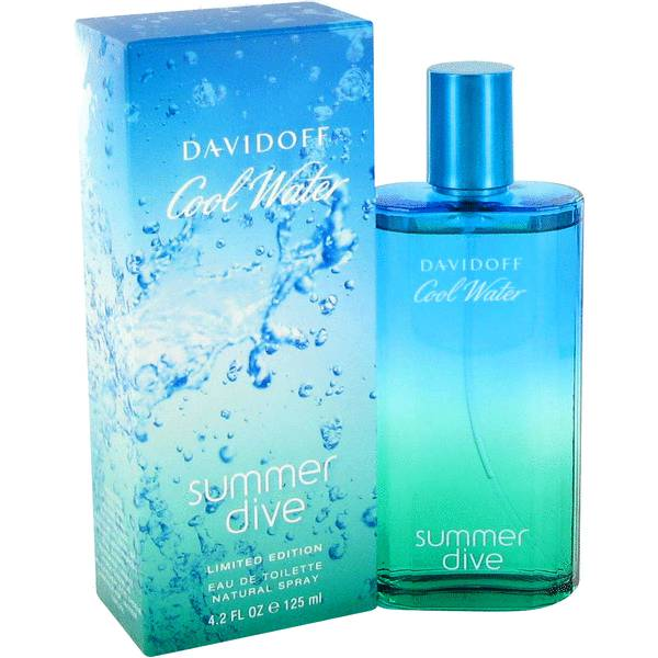perfume Cool Water Summer Dive Cologne
