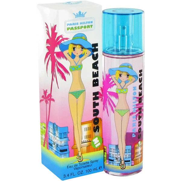 perfume Paris Hilton Passport Southbeach Perfume