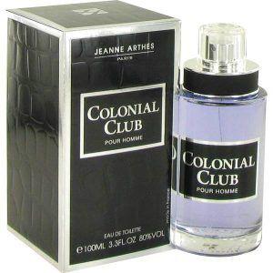 Colonial Club Cologne, de Jeanne Arthes · Perfume de Hombre