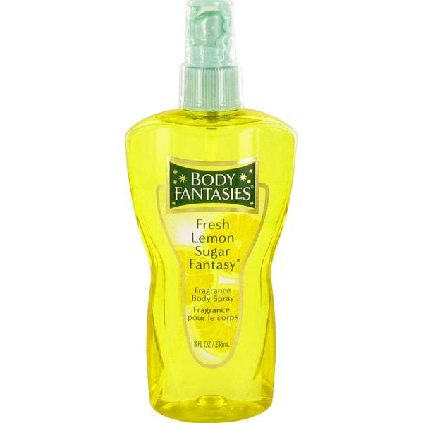 perfume Body Fantasies Fresh Lemon Sugar Fantasy Perfume
