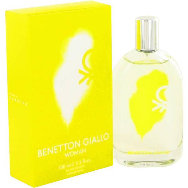 perfume Benetton Giallo Perfume