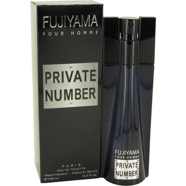 perfume Fujiyama Private Number Cologne