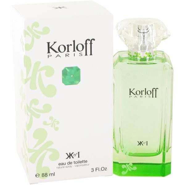 perfume Korloff Paris Green Perfume