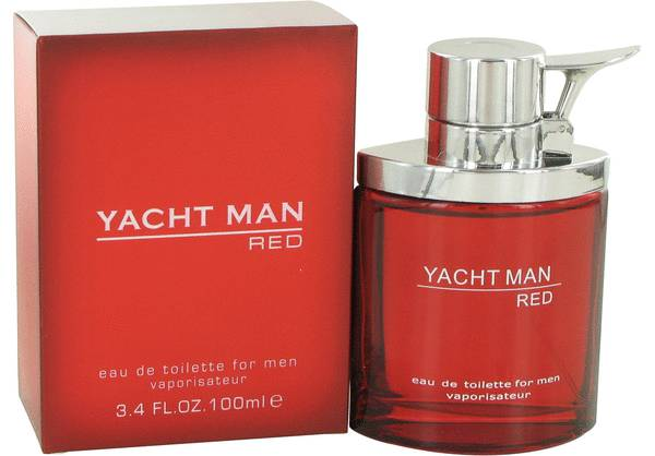 perfume Yacht Man Red Cologne