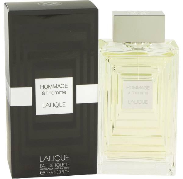 perfume Lalique Hommage A L'homme Cologne