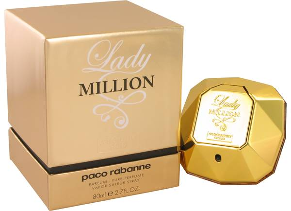 perfume Lady Million Absolutely Gold Perfume