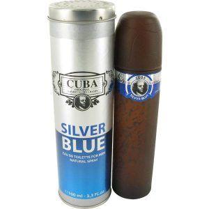 Cuba Silver Blue Cologne, de Fragluxe · Perfume de Hombre