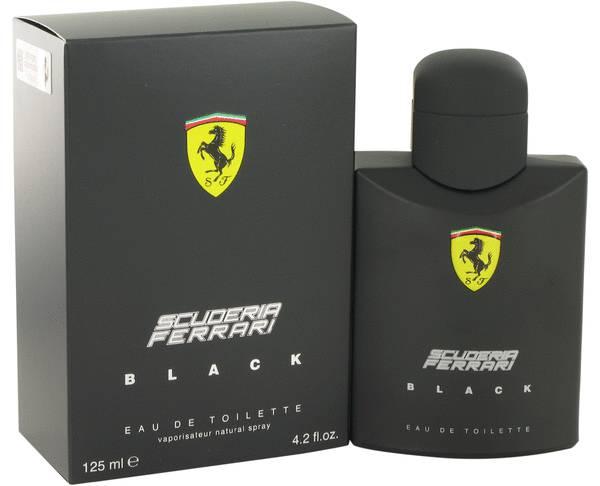 perfume Ferrari Scuderia Black Cologne