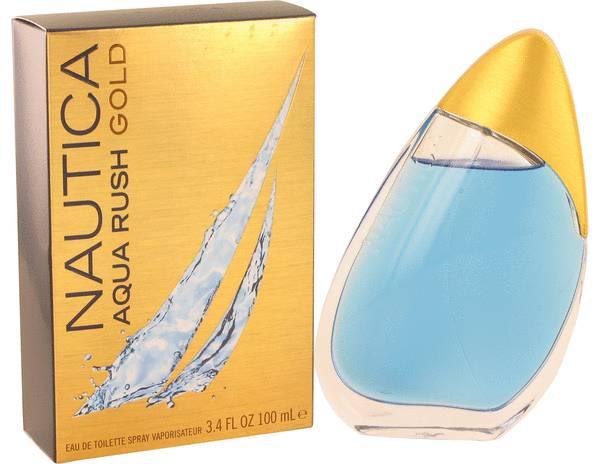 perfume Nautica Aqua Rush Gold Cologne