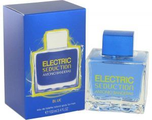 Electric Seduction Blue Cologne, de Antonio Banderas · Perfume de Hombre