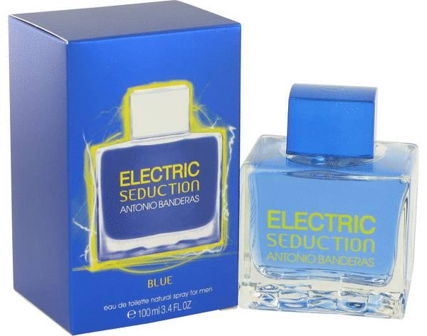 perfume Electric Seduction Blue Cologne