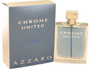 Chrome United Cologne, de Azzaro · Perfume de Hombre