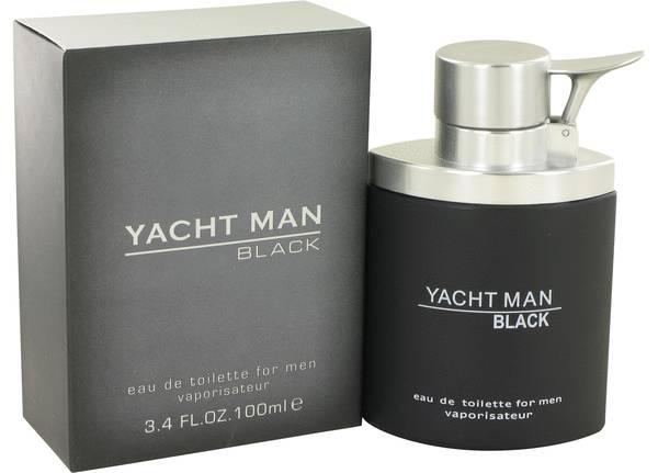 perfume Yacht Man Black Cologne