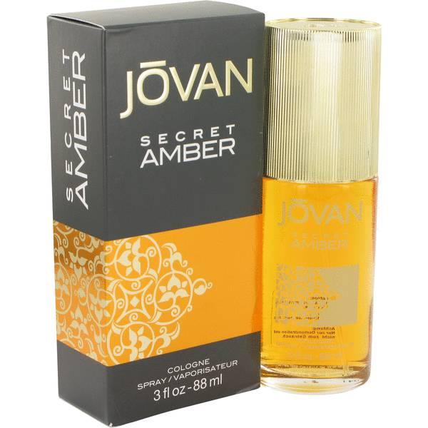 perfume Jovan Secret Amber Perfume