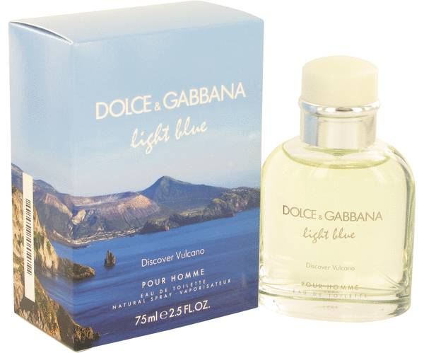 perfume Light Blue Discover Vulcano Cologne