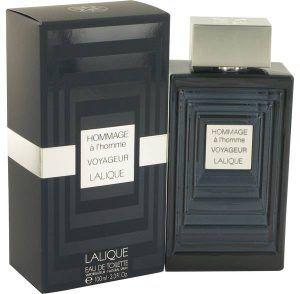 Hommage A L'homme Voyageur Cologne, de Lalique · Perfume de Hombre