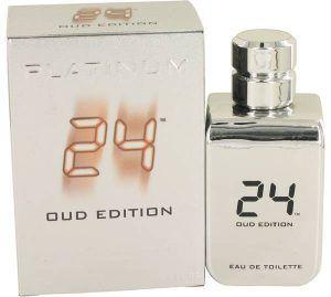 24 Platinum Oud Edition Cologne, de ScentStory · Perfume de Hombre
