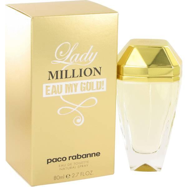 perfume Lady Million Eau My Gold Perfume