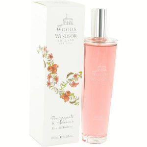 Pomegranate & Hibiscus Perfume, de Woods of Windsor · Perfume de Mujer