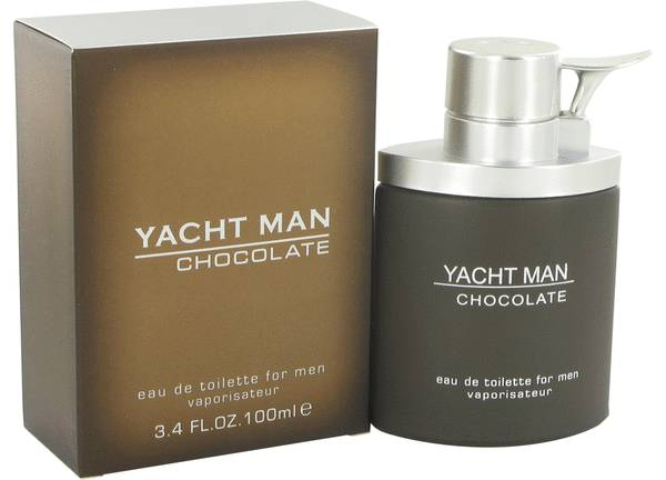 perfume Yacht Man Chocolate Cologne