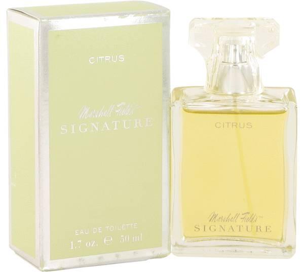perfume Marshall Fields Signature Citrus Perfume