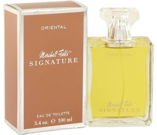 perfume Marshall Fields Signature Oriental Perfume