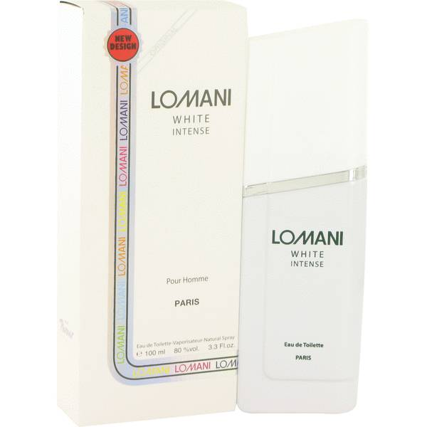 perfume Lomani White Intense Cologne