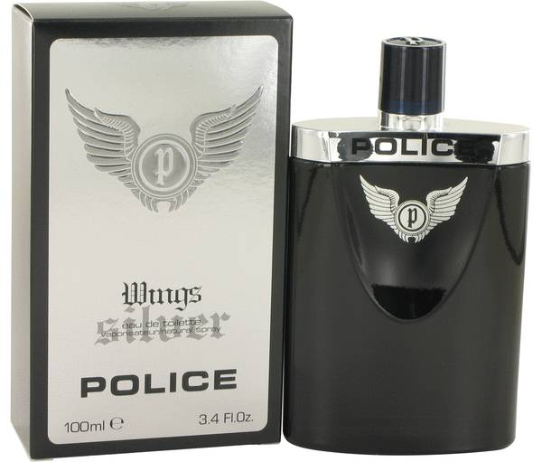 perfume Police Wings Silver Cologne