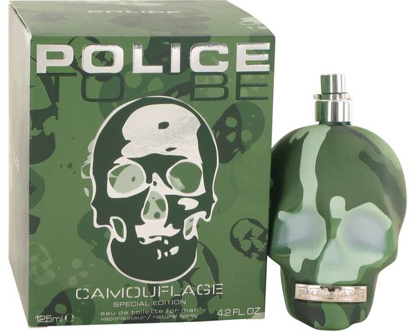 perfume Police To Be Camouflage Cologne