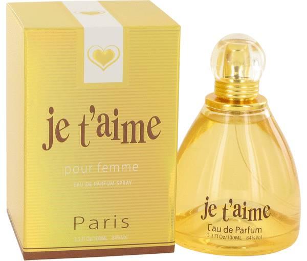 perfume Je T'aime Perfume