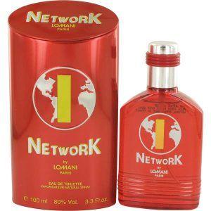 Lomani Network 1 Red Cologne, de Lomani · Perfume de Hombre