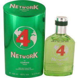 Lomani Network 4 Green Cologne, de Lomani · Perfume de Hombre