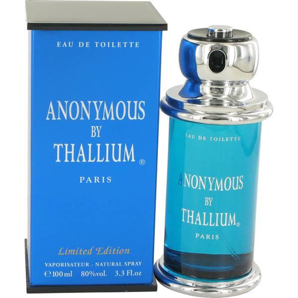 perfume Thallium Anonymous Cologne