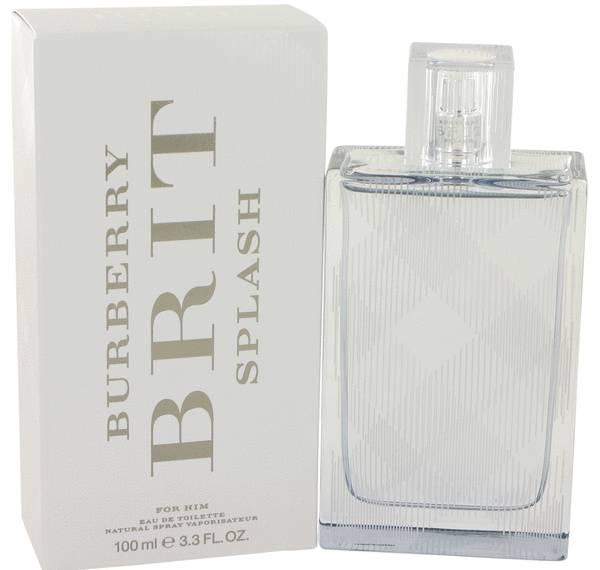 perfume Burberry Brit Splash Cologne