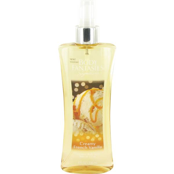 perfume Body Fantasies Signature Creamy French Vanilla Perfume