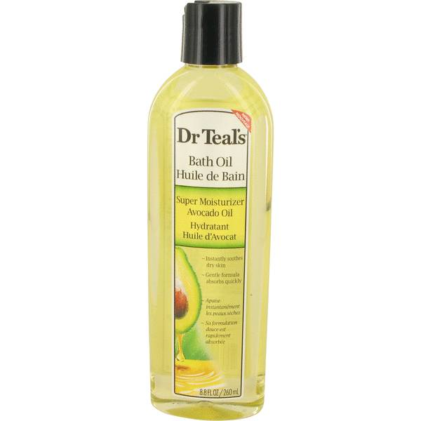 perfume Dr Teal's Bath Oil Super Moisturizer Avocado Oil Perfume